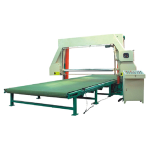 XPQ-WDXF-1650/2150 Horizontal Foam Mesh-belt Cutting Machine (with vacuum)